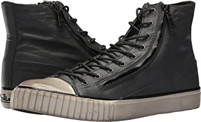 d9bf2a0c903d Amazon.com  John Varvatos Mens Double Zip Mid Top  Shoes