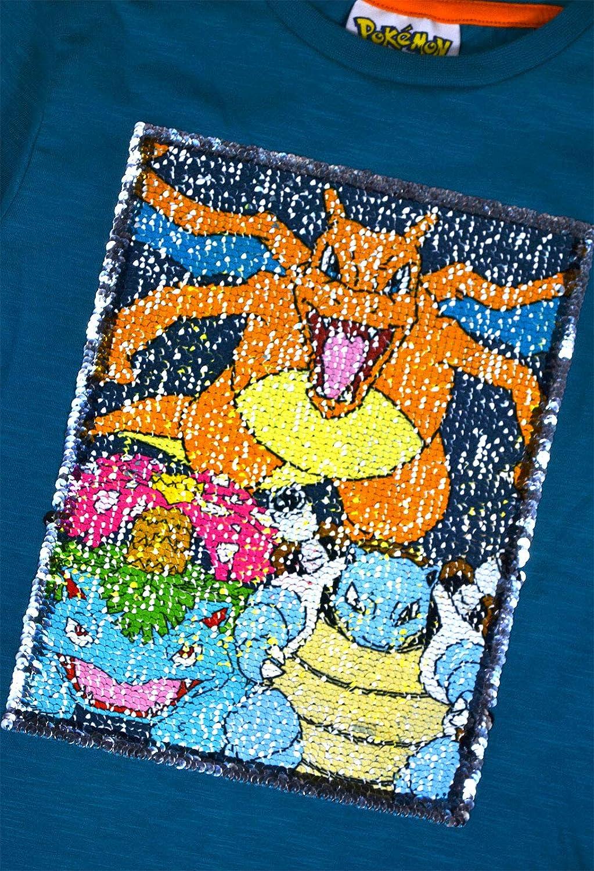 JollyRascals Boys Pokemon Top Long Sleeve 100/% Cotton T-Shirt Kids New Jumper Ages 3-12 Years