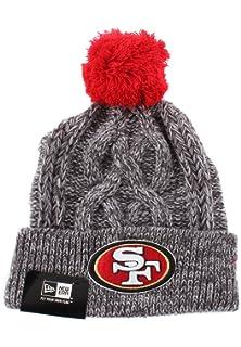 4b54e0761f2 New Era NFL San Francisco 49Ers Graphite Team Knit Bobble Hat ...