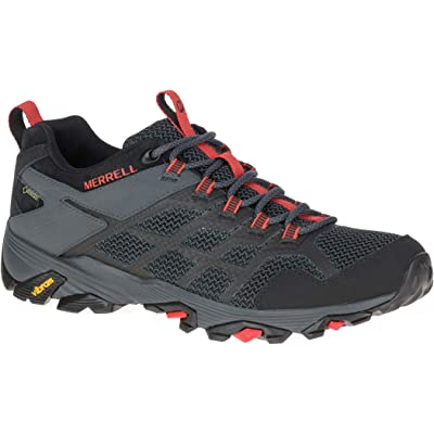 Merrell Moab FST 2 Gore TEX Men's Black and Granite Hiking Shoes Size 8 | Hiking Shoes