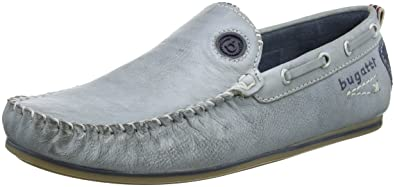 Mens F06671 Moccasins, Blue (Navy 423), 6 UK Bugatti