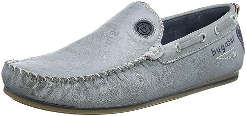 Bugatti 321469613500, Mocasines para Hombre, Azul (Light Blue), 44 EU: Amazon.es: Zapatos y complementos