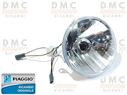 Faro faro proyector delantero Vespa PX 125 150 200 original ...