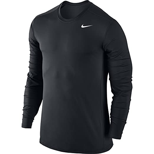 8f46b8ff Amazon.com: NIKE Men's Base Layer Long Sleeve Training Top: Clothing