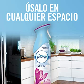 Amazon.com: Febreze AIR Effects Air Freshener Spring & Renewal (1 Count, 8.8 oz): Health & Personal Care