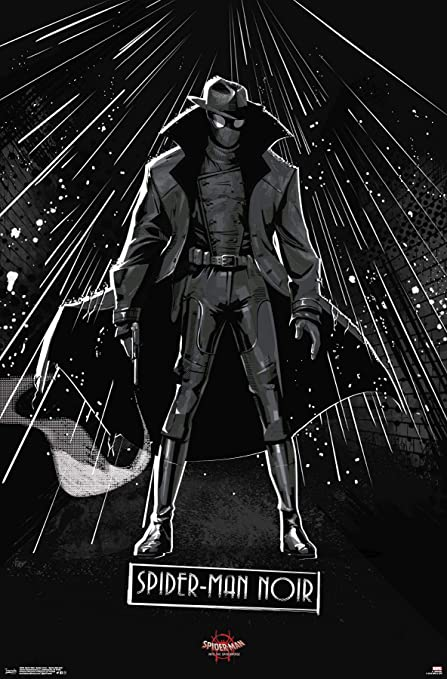Amazon Com Trends International Verse Spider Man Noir Wall Poster