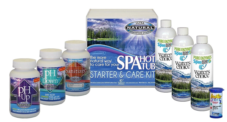 Amazon.com : Waters Choice Spa Start Up and Water Maintenance Kit 3 ...