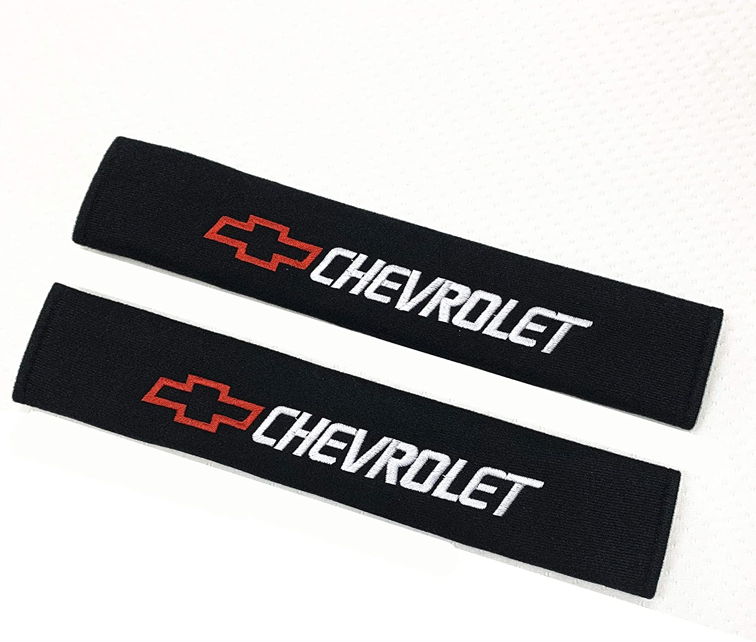 Strap Covers Cushion Long 13INCH Pair with Car Logo ACGOING Car Seat Belt Shoulder Pads Cadillac