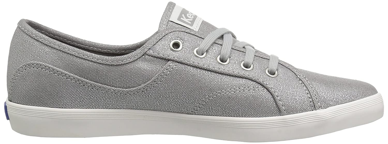 Keds Women's Coursa Metallic Sneaker B073NTCSY7 9.5 B(M) US Silver