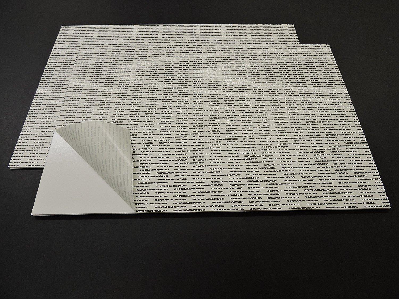 Self-Stick Foam Board - White 24''x36'' (4 SHEETS)