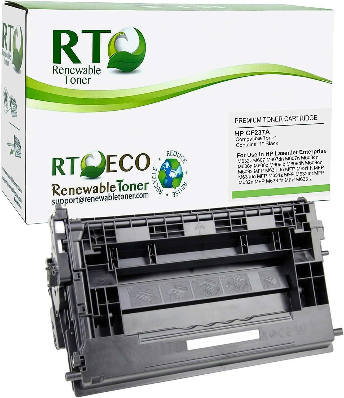 Renewable Toner Compatible Toner Cartridge Replacement for HP 37A CF237A for HP Laserjet Enterprise MFP M631 M632 M633 M607 M608 M609