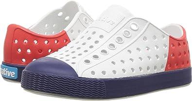 aa338d0b634f3 Amazon.com | Native Shoes Kids' Jefferson Block Child Sneaker | Sneakers