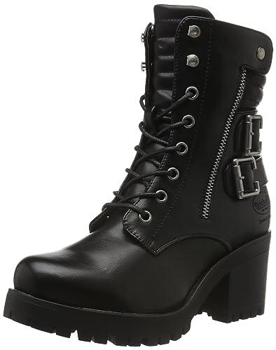 dockers by gerli 35aa305 400360 damen combat boots braun. Black Bedroom Furniture Sets. Home Design Ideas