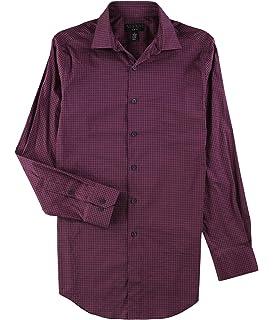 Alfani Mens Polished Button Up Shirt