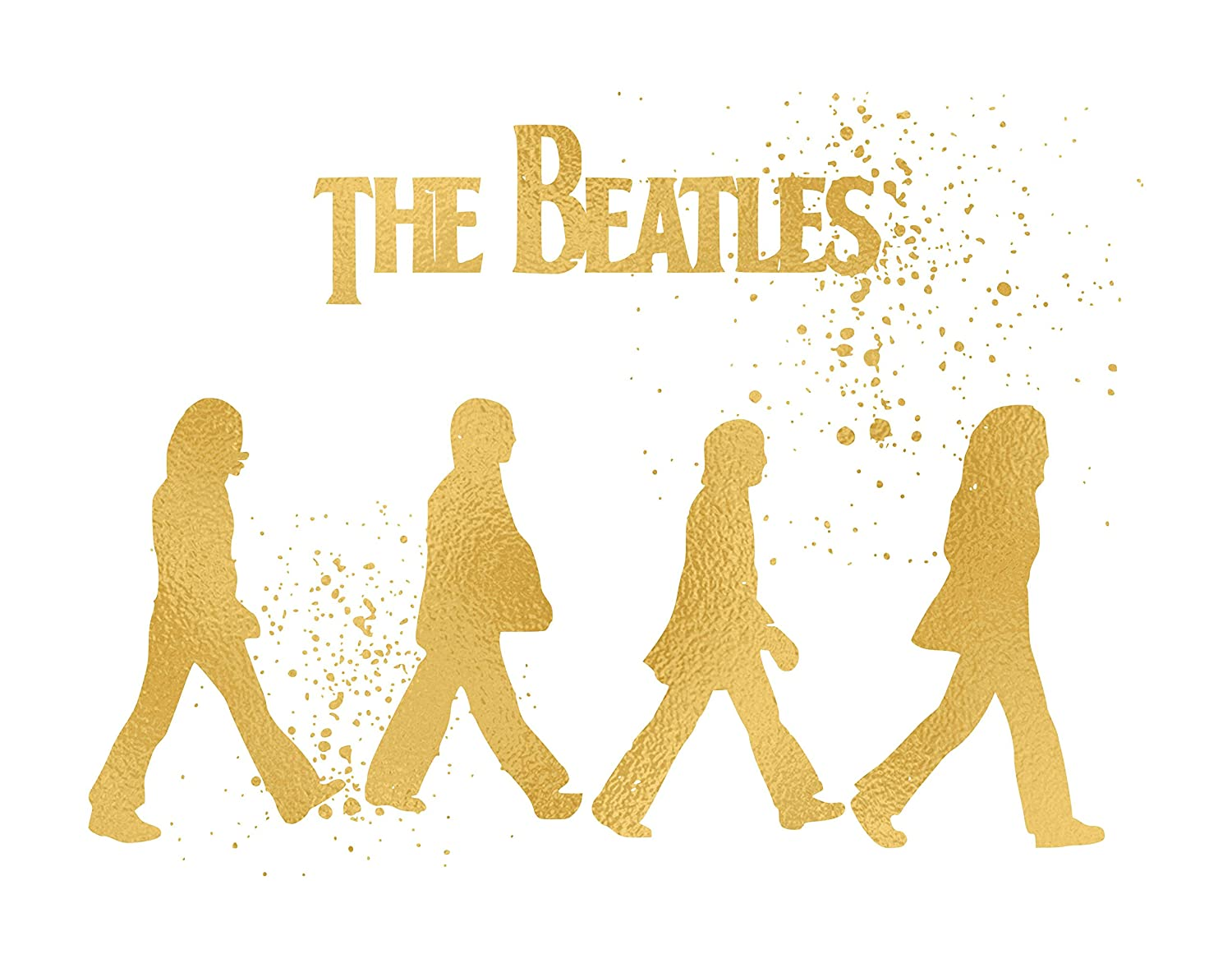Amazon.com: Inspired by The Beatles - Poster Print Photo Quality ...