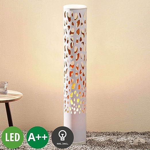 LED Lámpara de pie Organic (Moderno) en Blanco hecho de Plástico ...