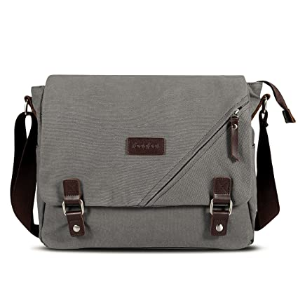 Image Unavailable. Image not available for. Color  ibagbar Canvas Messenger  Bag Shoulder Bag Laptop ... 6abe237561