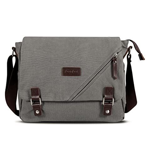 dcc3c0cefb Image Unavailable. Image not available for. Color  ibagbar Canvas Messenger  Bag ...