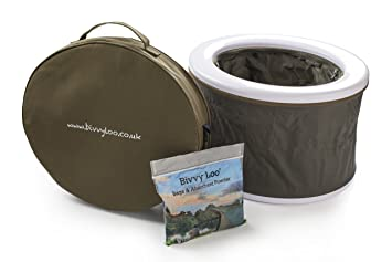 Bivvy Loo Portable Camping Toilet - Festival Toilet - Fishing Toilet ...