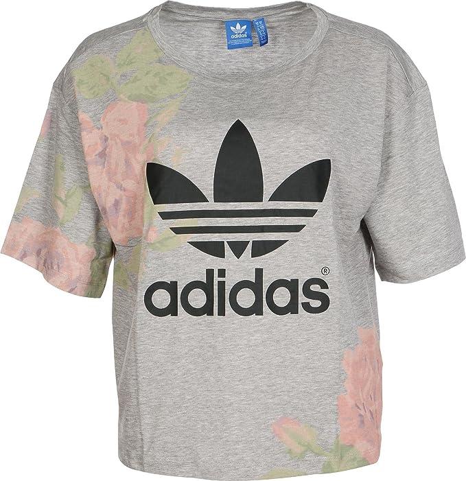 T Shirt Women adidas Originals Pastel Rose Logo T Shirt