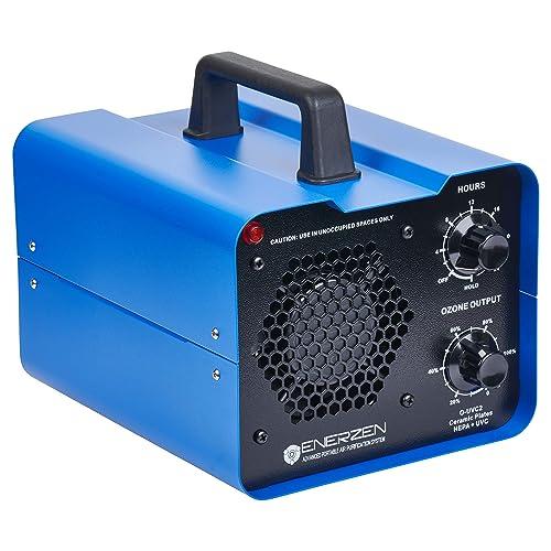 Enerzen Commercial Ozone Generator Industrial O3 Air Purifier Deodorizer Sterilizer O-uvc2 2 Ozone Plates