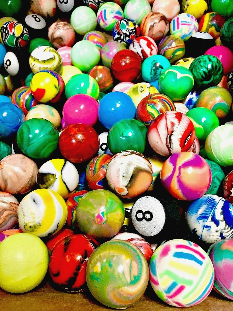 PREMIUM Bouncy Balls 27 MM (1000 count) by BOUNCY BALLS VENDING SUPPLY (Image #1)