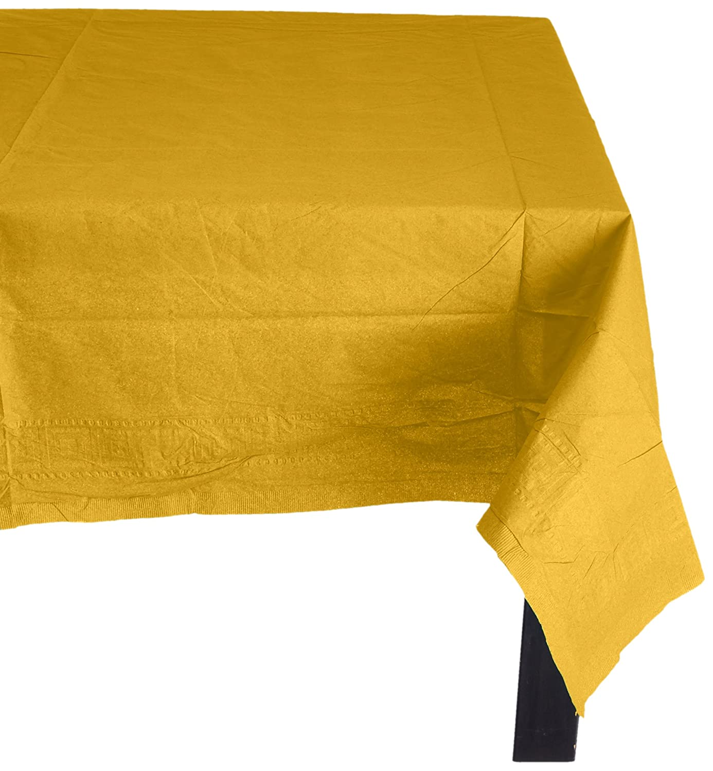 Amscan Lined Plastic Tablecover Pack Of 6