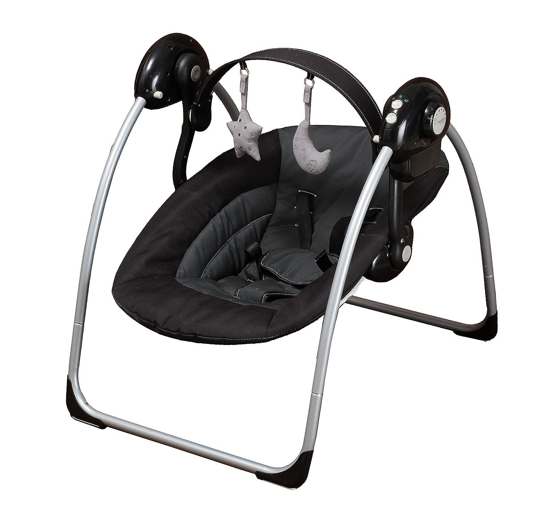 xadventure Swing asiento saltador suspendida Negro/Gris: Amazon.es ...