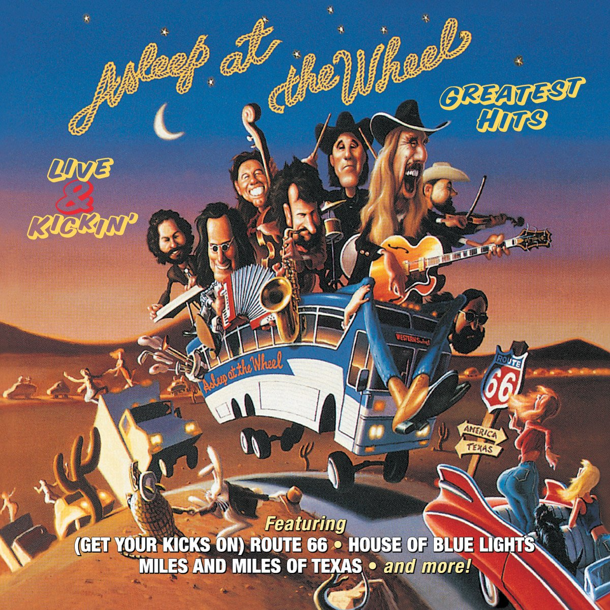 Asleep at the Wheel - Live & Kickin' Greatest Hits by Bmg Special Product
