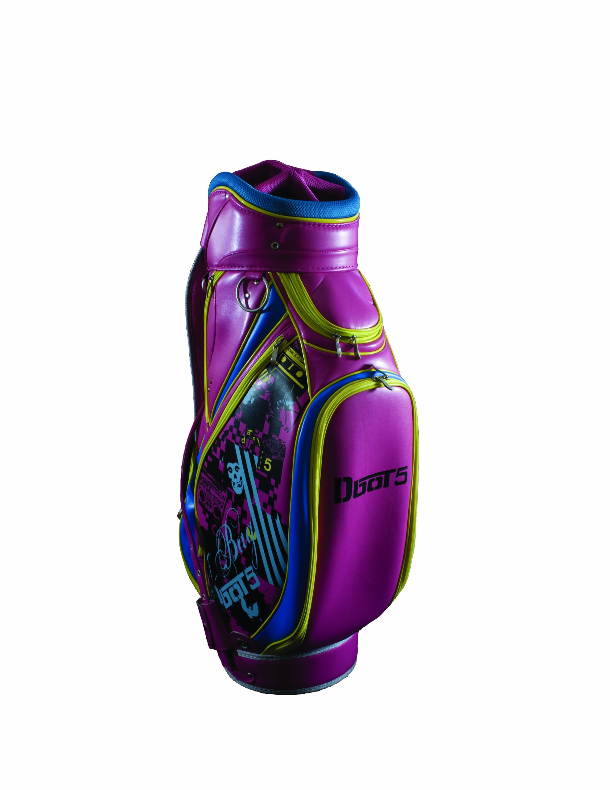 Dbot5 Hail Mary Golf Stand Bag, Pink