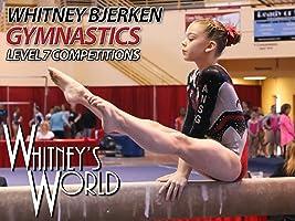 Whitney Bjerken Gymnastics Level 7 Competitions