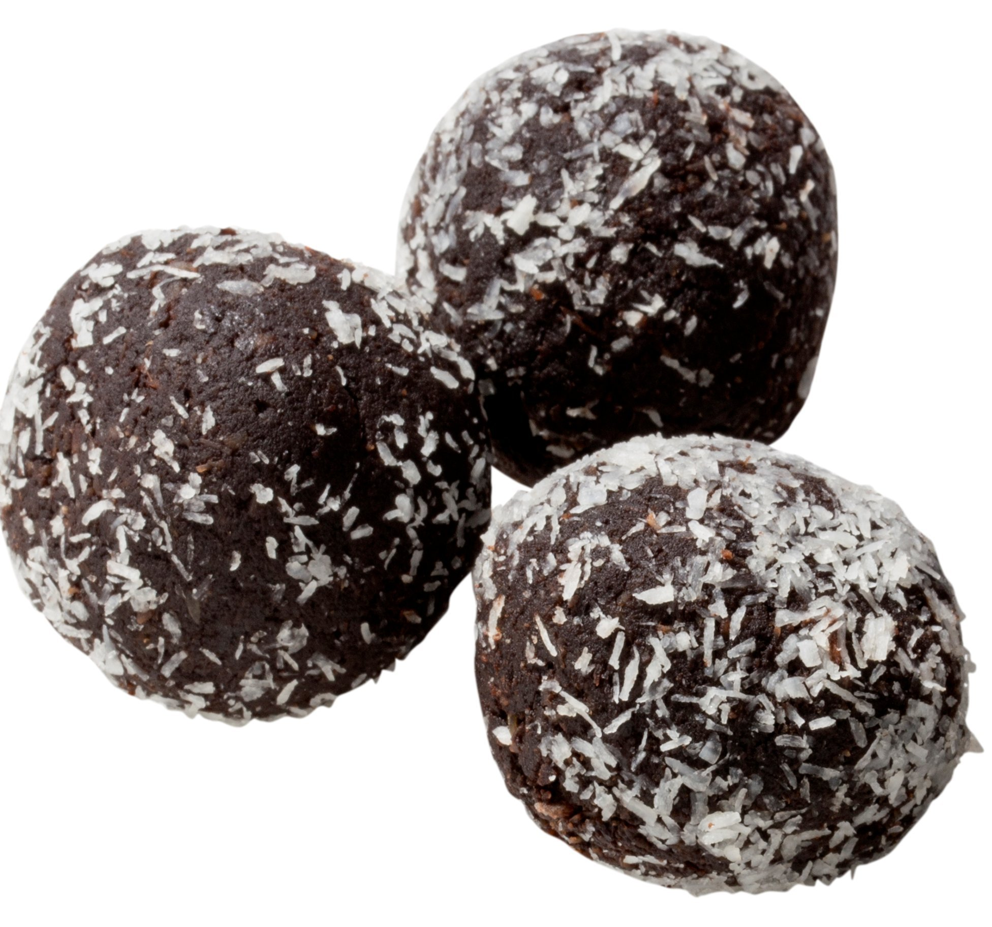 Low Carb Rum Balls - 12 Pack - Only 1 Net Carb Per Ball - Best Tasting Diet Product Ever!