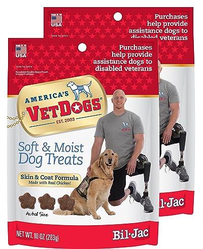 Bil-Jac VetDogs Skin & Coat Soft Treats