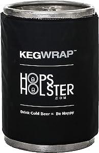 HopsHolster Keg Cooler Keg Wrap for Keeping Kegs Cool and insulated - keg sleeve wraps around cold keg