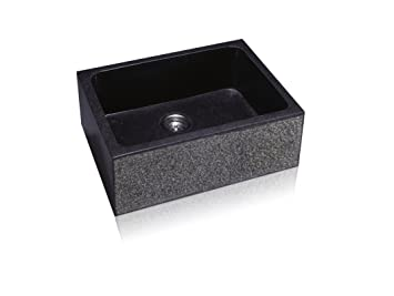 Lenova SA-400S-Textured Stone Apron Single Bowl Kitchen Sink ...