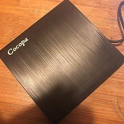 Amazon Co Jp Cocopa Usb 3 0外付け Dvd ドライブ Dvd プレイヤー ポータブルドライブ Cd Dvd読取 書込 Dvd Rw Cd Rw Usb3 0 2 0 Window Mac Os両対応 高速 静音 超スリム ブラック Black パソコン 周辺機器