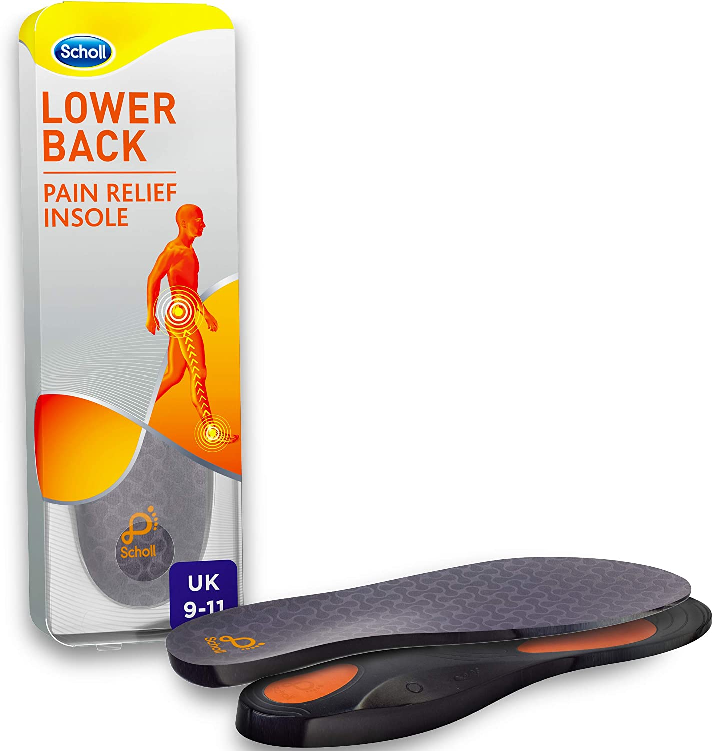 Scholl Orthotic Insole Lower Back Pain