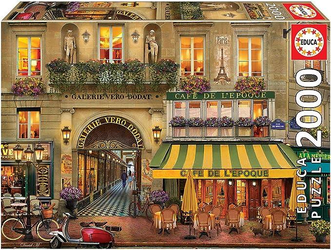 Educa Borras - Genuine Puzzles, Puzzle 2.000 piezas, Galerie Paris (18506): Amazon.es: Juguetes y juegos