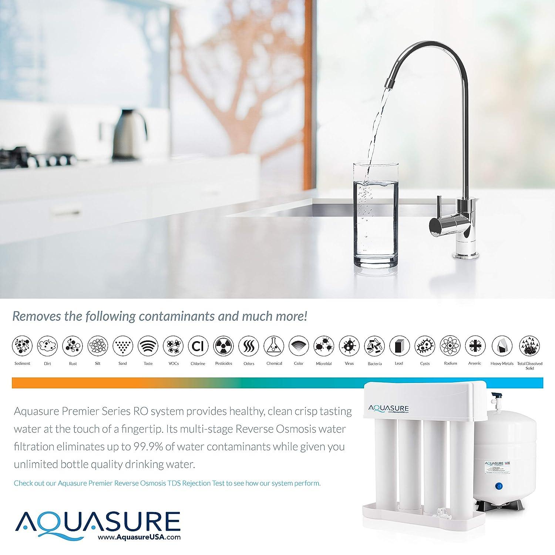 Aquasure RO System AS-PR75A-BN Reverse Osmosis System - Faucet