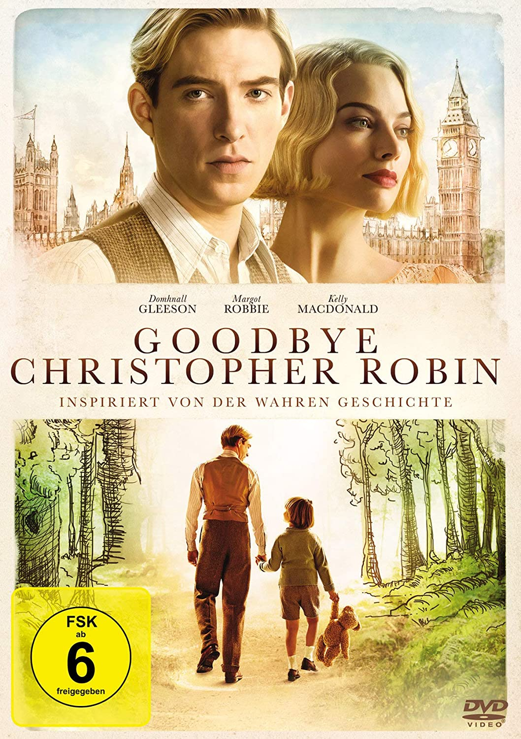 Cover: Goodbye Christopher Robin DVD-Spielfilm (ca. 103min)