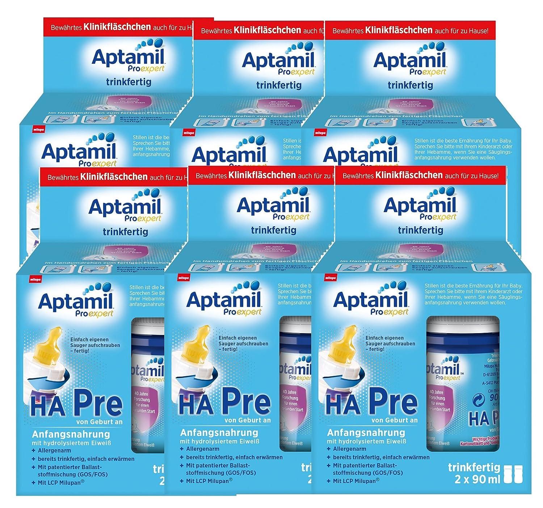 Aptamil ProExpert HA Pre Anfangsmilch, trinkfertig, 6er-Pack (6 x 2 x 90 ml) Milupa GmbH