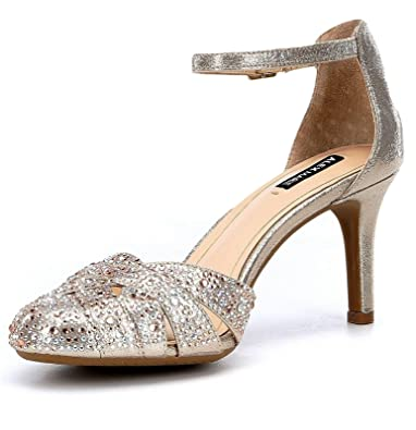 50061ae270b Alex Marie Delina Jeweled Ankle-Strap Pumps (8M