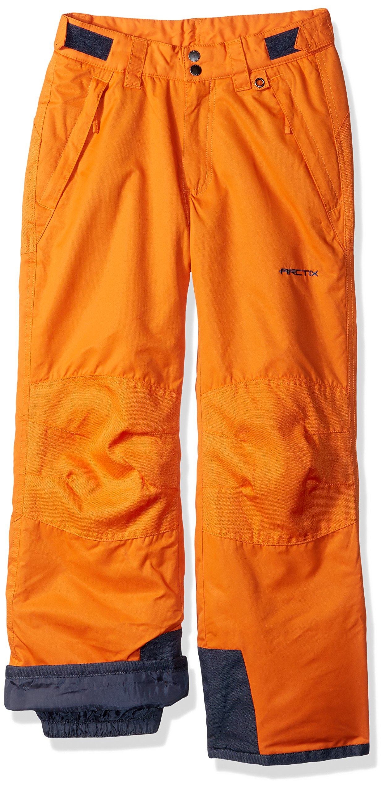 Arctix Youth Snow Pants with Reinforced Knee and Seat, X-Small, Burnt Orange