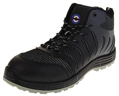 504f4542801 Amazon.com | Lambretta Mens Steel Toe Cap Safety Boots | Industrial ...