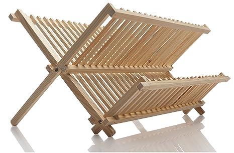 Norpro Pine Wood Folding Dish Rack  sc 1 st  Amazon.com & Amazon.com: Norpro Pine Wood Folding Dish Rack: Drying Racks For ...