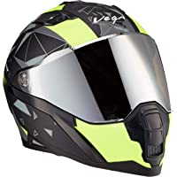 Vega Storm Drift Black Orange Helmet-L