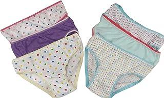 6 calzoncillos para niñas 100% Algodón Estampado Braguitas 2-3 años, 3-4, 5-6 7-8