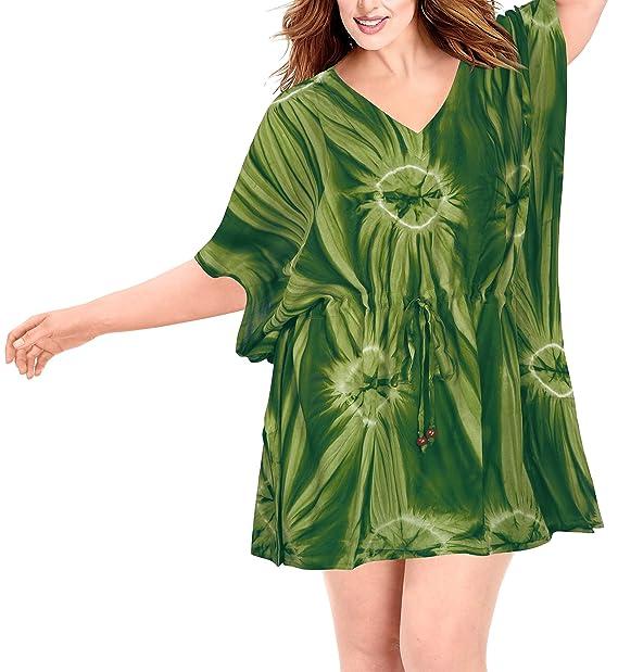 243c2813ae39 LA LEELA Ropa de Playa Vestido de Kimono Vestido de Traje de baño Bikini  Traje de. Pasa el ratón por encima de la imagen para ampliarla