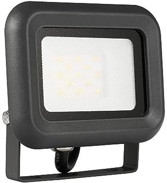10X 10W LED Fluter Mit Stecker Flutlicht Strahler Scheinwerfer Außen Warmweiß