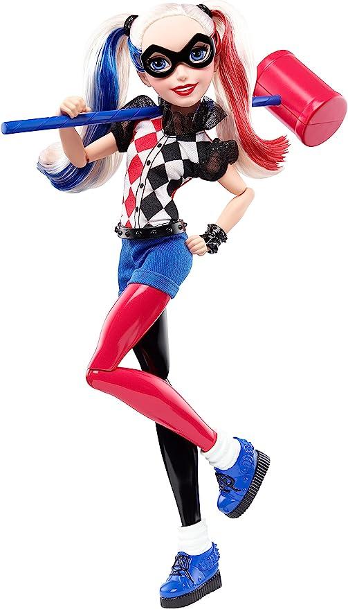 Amazon.com: DC Super Hero Girls Harley Quinn 12